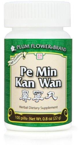 4 Pack! Pe Min Kan Wan, les pilules d'allergie nasale, les comprimés