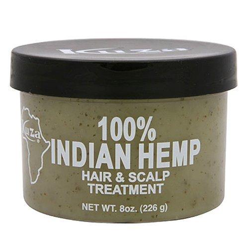Kuza Indian Hemp Hair & Scalp Treatment - 8 Oz  by Kuza