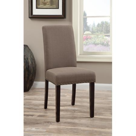 Amazon.com: DHI Nice - Juego de 2 sillas de comedor ...