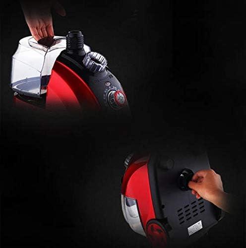 BCXGS Défroisseur Vapeur Vertical Professionnel 11 Vitesses Réglables 1800W Cuiseur à Vapeur, Chauffe Rapide et 1.8 L Grand réservoir, pour Vêtement Literie Rideau Tissu