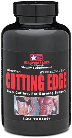 Cutting Edge - Natural Diuretic for Muscle Definition and Weight Loss with L-Carnitine, Green Tea Concentrate, Vitamin B-6 and Potassium - 120 Count 1