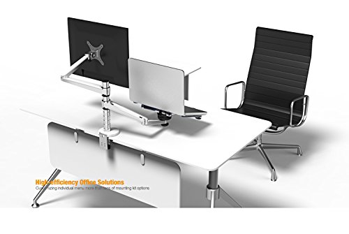 MagicHold 2 in 1 360º Rotating Double Laptop/monitor Holder/stand for Desk/workstation by MagicHold®