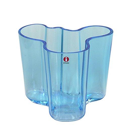 [イッタラ] iittala イッタラ 北欧 アルヴァアアルトコレクション iittala イッタラ Alvar Aalto (アルヴァアアルト(アールト)) VASE 120mm 花瓶 LIGHT BLUE [並行輸入品] B017ASYL90 Light Blue Light Blue