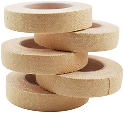EXCEART Selbstklebende Bandage Klebeband Selbstklebende Wickel Atmungsaktive Kohäsive Bandage für Guzheng Und Pipa Fingerpicks Sportverletzung 10Pcs