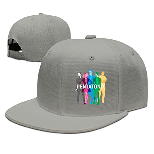 BAI XUE Pentatonix Music Band Adjustable Baseball Cap Ash (Pentatonix Boy Little Christmas Drummer)