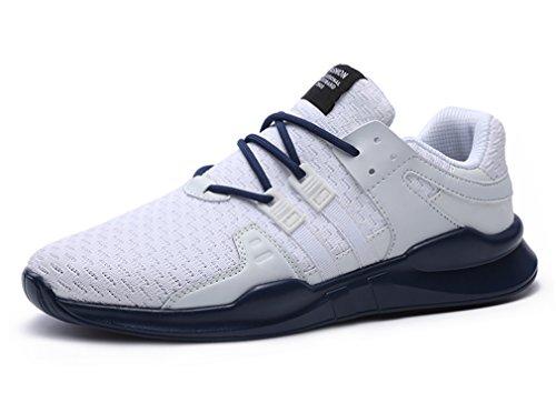 Sneakers Running Mesh GUDEER Donna Respirabile Sport Corsa da Ginnastica Tennis 716blue Uomo Sportive Fitness Trekking Scarpe Basse Adulto Unisex Outdoor Shoes Aqqvr6xnw8