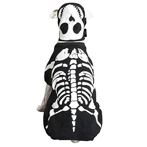 Pet-Bliss Glow Bones Costume XS ()