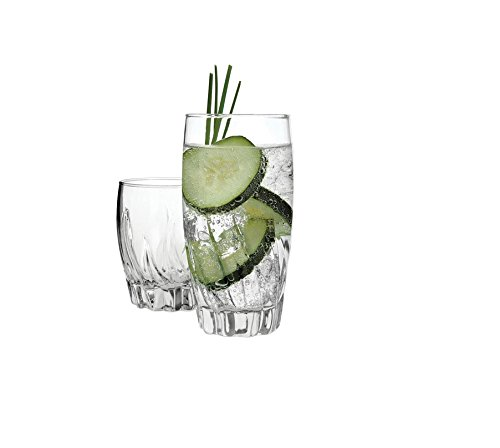 Anchor Hocking Drinking 16 Piece Glassware