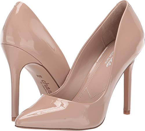 Patent Charles Pumps Leather David - CHARLES BY CHARLES DAVID Women's Palma Nude Patent 9.5 M US