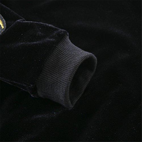 Mrsrui Kids Boy Girl Plus Cashmere Long Sleeve Sweatshirts+Pants Fall Outfits Sweater Suit by Mrsrui (Image #2)