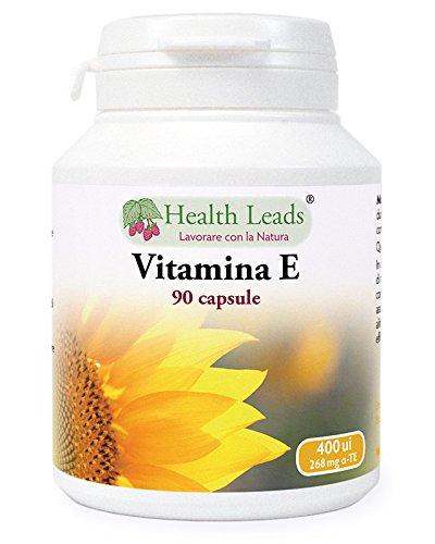 Vitamina E 400 ui x 90 Capsule (Nessun stearato di magnesio)