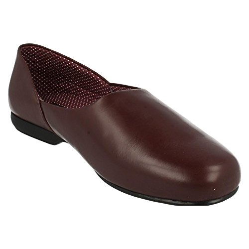 Zapatillas De Hombre Clarks Harston Lounge Borgoña