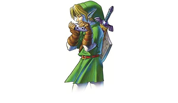 Amazon.com: WiggleWalls 5 Inch Link Ocarina of Time Decal ...