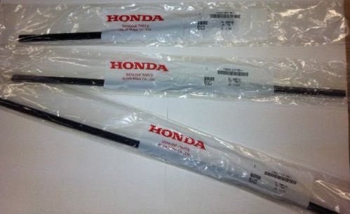Genuine OEM Honda 2011-2013 Odyssey Wiper Insert Set Front and Rear