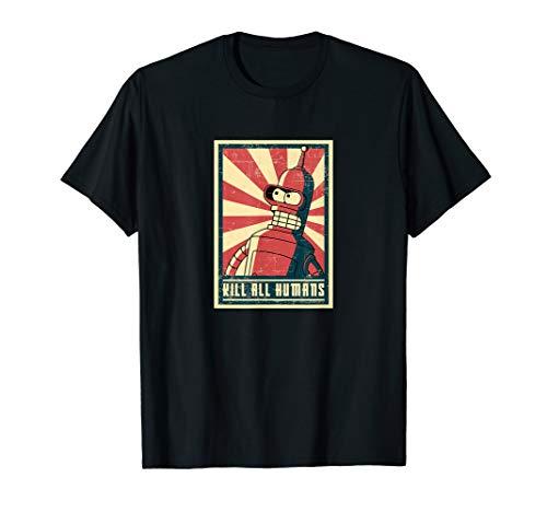 Grunge Revolution - Rebotlution geek bot revolution grunge cartoon tshirt