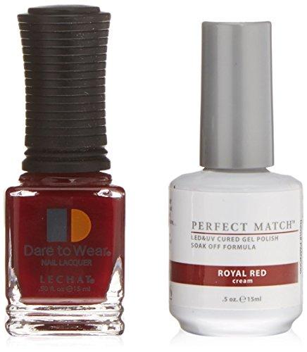 LECHAT Perfect Match Nail Polish, Royal Red, 0.500 Ounce