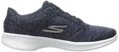 Scarpe glorify Da Navy 4 Basse white Donna Ginnastica Skechers Walk Heather Go qwIIBF