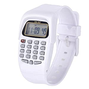 Reloj calculadora digital VANKER con luz LED
