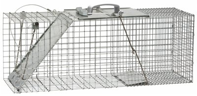 - Havahart 1085 Easy Set & Release Trap Cage