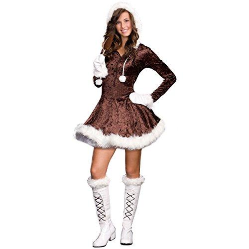[Eskimo Cutie Pie Costume - Teen Large] (Eskimo Cutie Costumes)