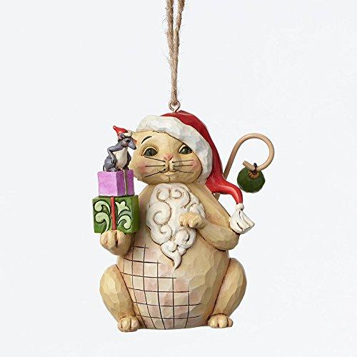 Amazon.com: Jim Shore for Enesco Heartwood Creek Christmas Cat with ...