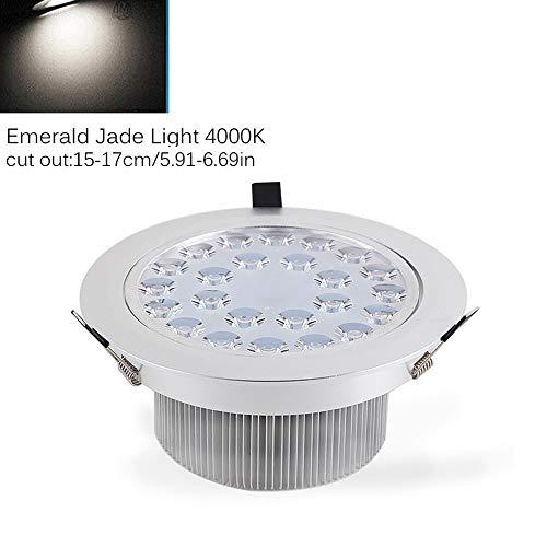 Verlight Luz LED antideslumbrante Lámpara empotrada en el techo Iluminación Emerald Jade Lámpara empotrada de ahorro de...