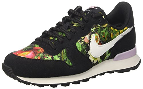 Nike W Internationalist Prm - Zapatillas de deporte Mujer Negro (Black/summit White/prism Pink)