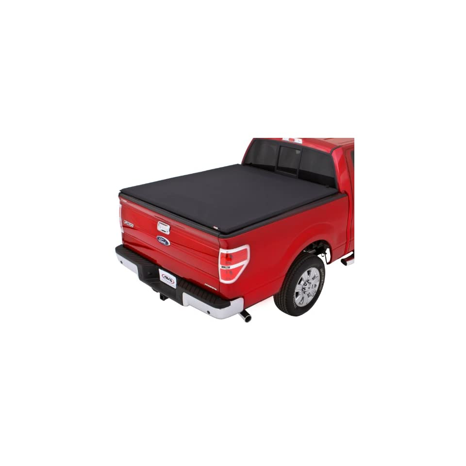 Lund 95873 Black Pearl Tri Fold Tonneau Cover for Select Ford Models