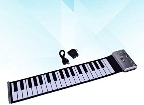 TOYANDONA Kinder Klavier 37 Tasten Tastatur Orgel Kinder Spielzeug Klavier Elektronische Lernspielzeug Orgel für Kinder Kleinkinder Kinder 100 Klangfarbe 100 Rhythmus Silber (Ohne Batterie)