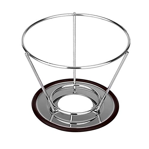 Reusable Stainless Steel Coffee Filter – AINOK Stainless Steel Pour Over Coffee Dripper with Double Layered Filter,Reusable Coffee Filter with Removable Cup Stand,Brush and spoon. by AINOK (Image #3)