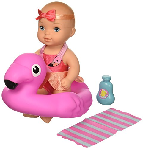 Waterbabies Bathtime Fun Flamingo CA Doll, Multicolor (Doll Water Baby)