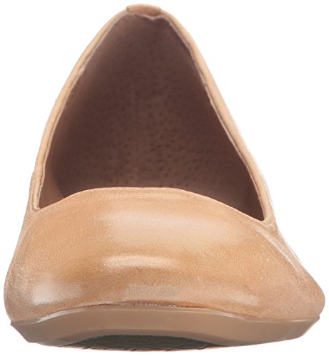 Calvin Klein Womens Fridelle Ballet Flat Sandstorm