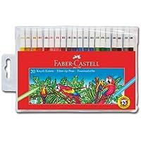 Faber-Castell 5067155120 Keçeli Kalem, 20 Renk