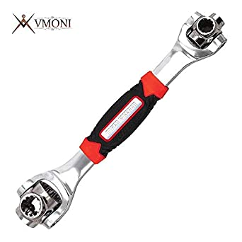 Vmoni Tiger Wrench 48 in 1 Socket Wrench Multifunction Universal Hand Tool