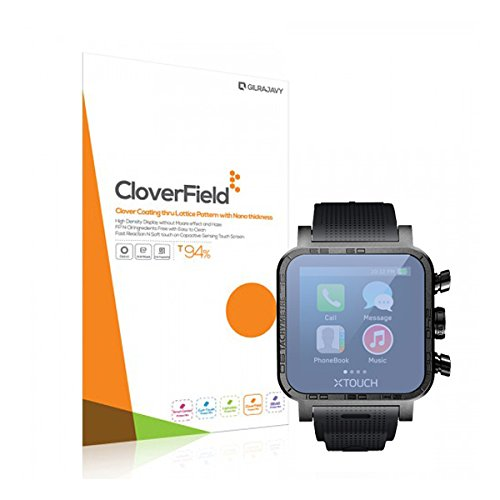 Gilrajavy Cloverfield Xtouch Wave HD Clear Premium Finger Print Fee Fine Film Matt And Hi Clear 2Pcs