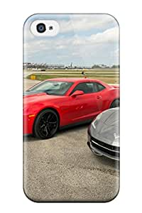 New Style Hard Case Cover For Iphone 4/4s- Chevrolet Camaro 4