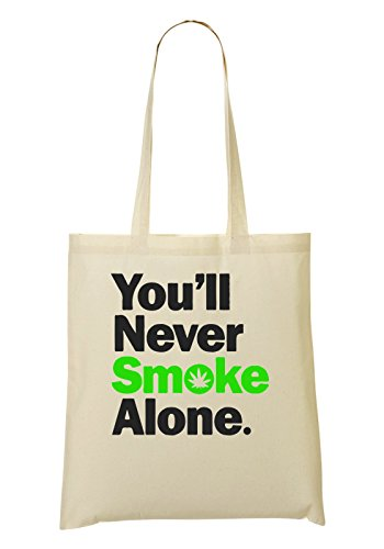Alone Will De La Smoke Never Bolsa Bolso You De Compra Mano qdwXtgd