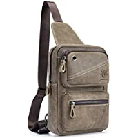 2584fbc3e5 10 Best Leather Sling Backpack For Men Reviews on Flipboard by ...