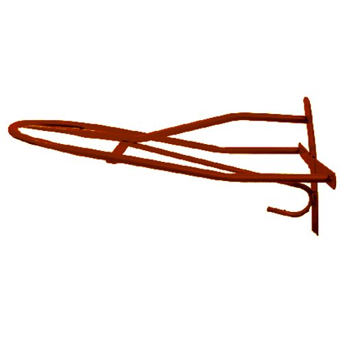 (Intrepid International Wall Saddle Rack, Red )