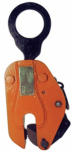 (Plate Clamp, 1000 lb, Vertical, 0 to 3/4 In)