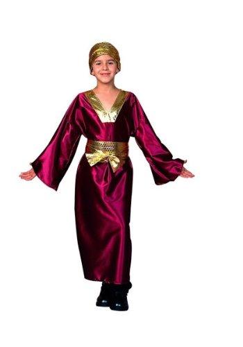 RG Costumes Wiseman Costume, Child Medium/8-10, Wine (Child Wiseman Costume)