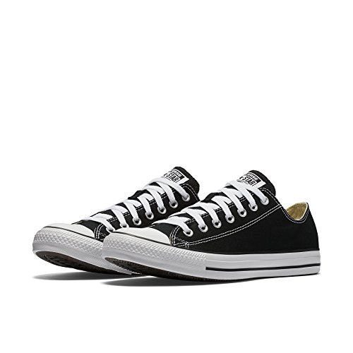 Converse All Star Ox Fashion tela, nero (Black), 40 EU F
