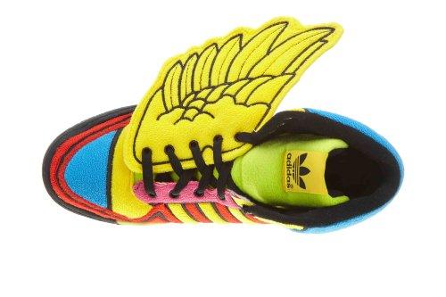 Zapatillas Adidas Jeremy Scott Js Wings Rainbow Para Hombre G61380 Sun // Poppy