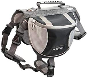 PETTAIL Hound Dog Saddlebags Hiking Gear Equipment Backpack Lightweight for Tactical Training Travel / PETTAIL Hound Dog Saddlebags Hiking Gear Equipment Backpack Lightweight for Tactical Training Travel