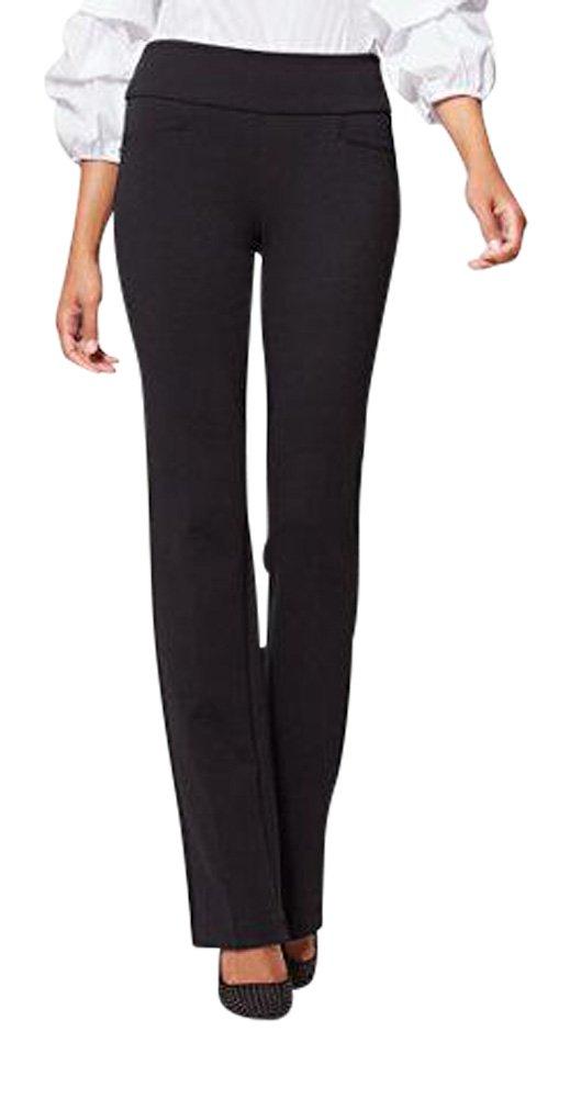 New York & Co. 7Th Avenue Petite Pant - Bootcut - Small Black