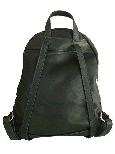 Ateliers Florentins Versola M - Bolso mochila  de Piel para mujer Verde