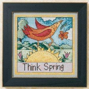 Mill Hill Cross Stitch Bead Sticks Kit - Think Spring - $20.00