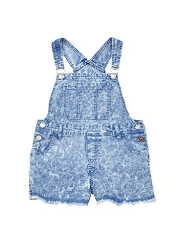 Chilipop Shorts Overalls Girls Frayed