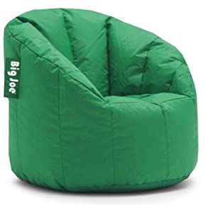 Big Joe Milano Bean Bag Chair, Multiple Colors (Elf Green)