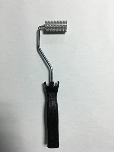 3-4x-2fiberglass-laminating-roller-bubble-roller-for-resin-black-handle-laminating-nobby-roller-for-